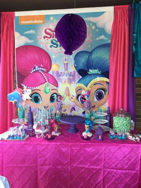 venices shimmer  shine party catchmypartycom