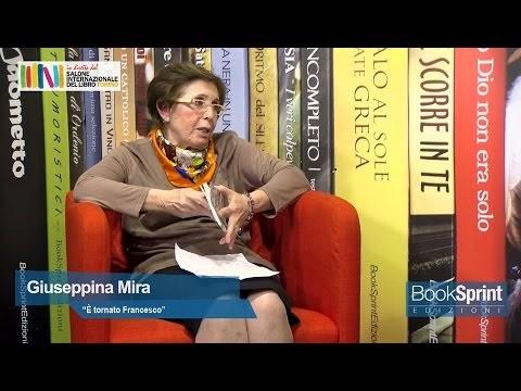 Giuseppina Mira dal Salone Internazionale del Libro di Torino - VIDEO