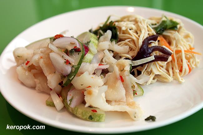 Chicken Feet Salad, Bean Curd Strips Salad