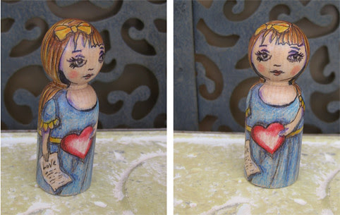 love letters peg doll