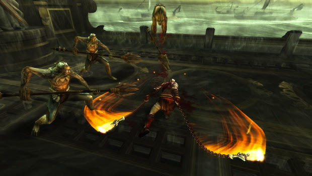 E3 10: Ready at Dawn raises the bar for PSP with God of War: Ghost of Sparta screenshot