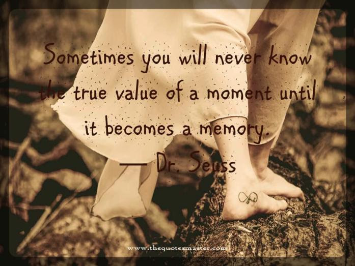 Until It Becomes Memory