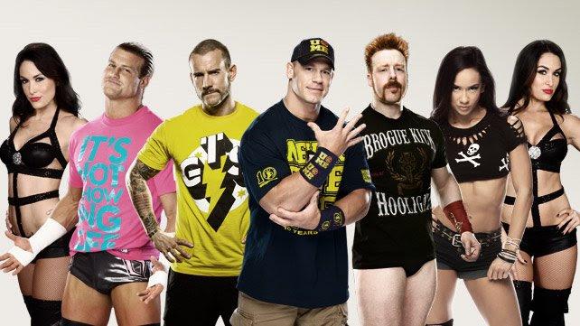 Spotkanie gwiazd WWE i fanów na Wizard World Comic Cons