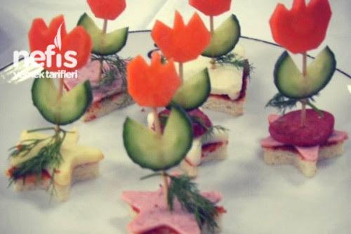 Süslü Kanepeler - Nefis Yemek Tarifleri