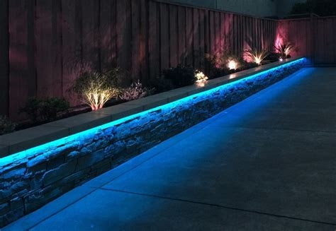 rgb led strip landscaping lights contemporary