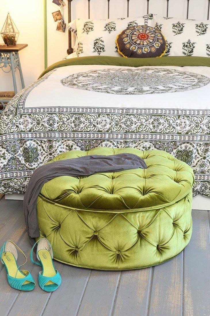 Plum & Bow Ava Large Storage Ottoman #urbanoutfitters