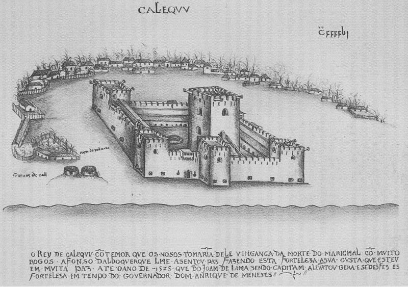 File:Portuguese fort at Calicut.jpg
