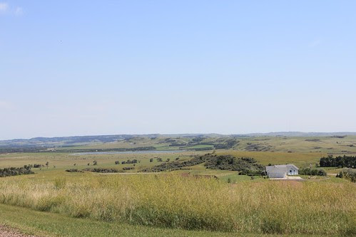 Missouri River Valley Near Mandan, ND