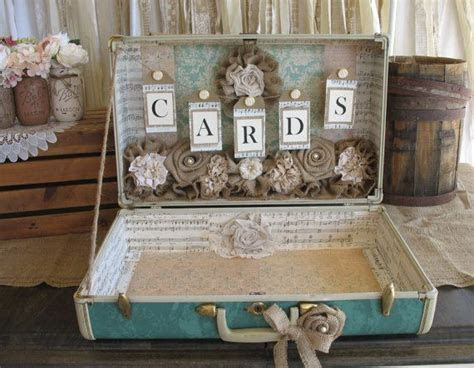 Best 25  Suitcase card box ideas on Pinterest   Wedding