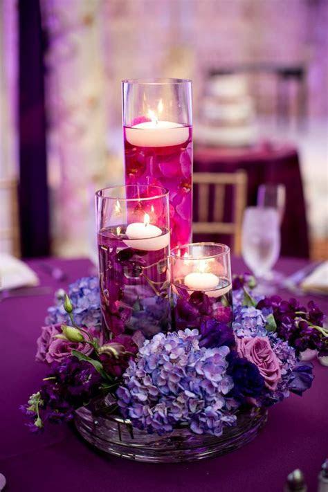 Candelabros como centros de mesa para bodas   En Boda PR