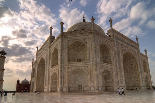 tone Mapped Taj
