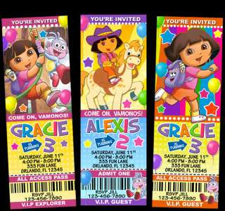 Dora Explorer Birthday Party on Dora The Explorer Diego Party Invitations Pcs Ebay Pictures