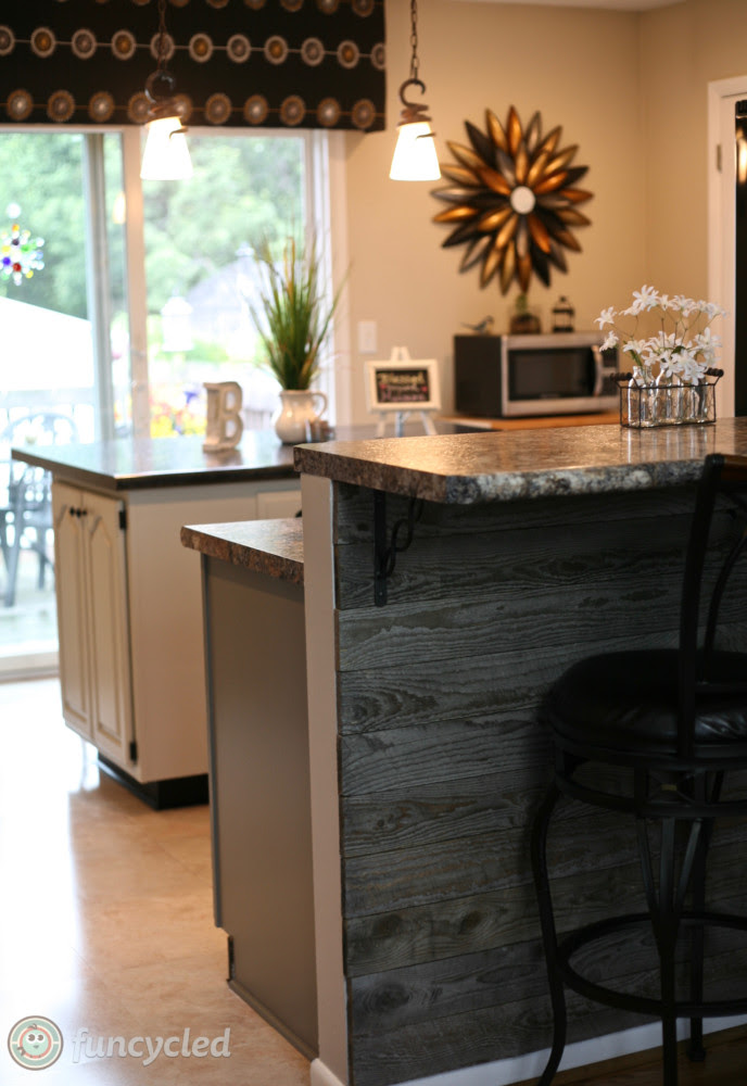 Gray Painted Oak Cabinets and Kitchen Makeover - Tuesday ...