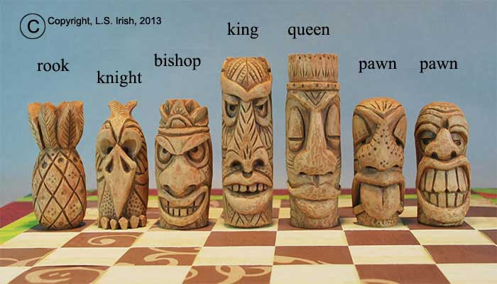 Chess Free Beginner Wood Carving Pattern