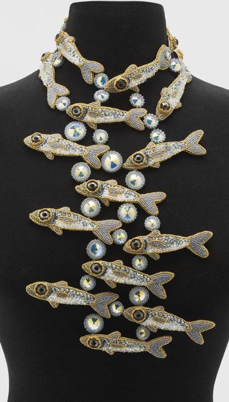 Necklace | Kinga Nichols ~ Crimson Frog Designs