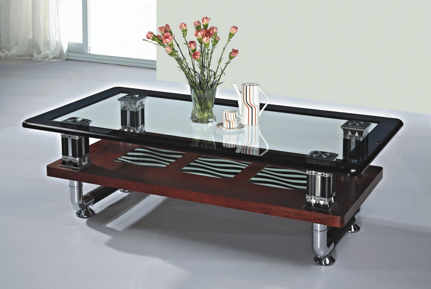 China Living Room Furniture/Glass Table (2246) - China ...