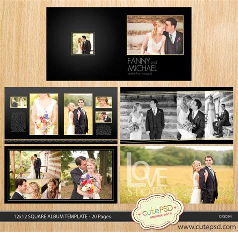 12 Best Wedding Album Templates for your studio   InfoParrot
