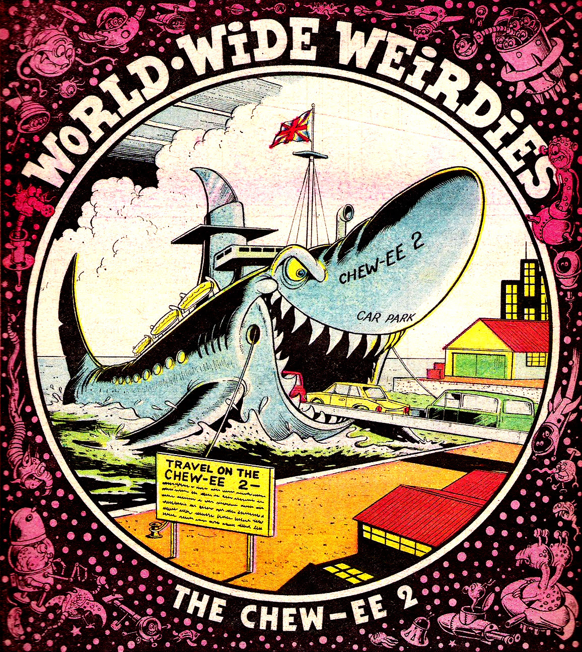Ken Reid - World Wide Weirdies 89