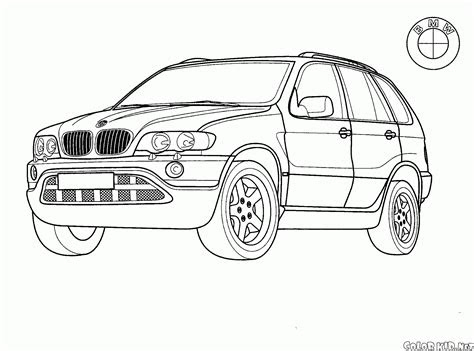 coloring page japanese jeep