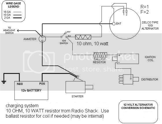 Ford 2n Tractor 6 Volt Wiring Diagram