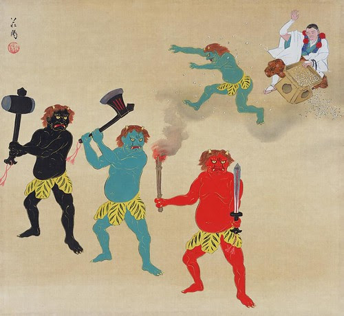 Roh staged temple fire demon - Zanjioniyarai route (first year of Showa) 1926