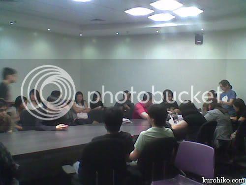 inside the komikon meeting at the bayanihan center