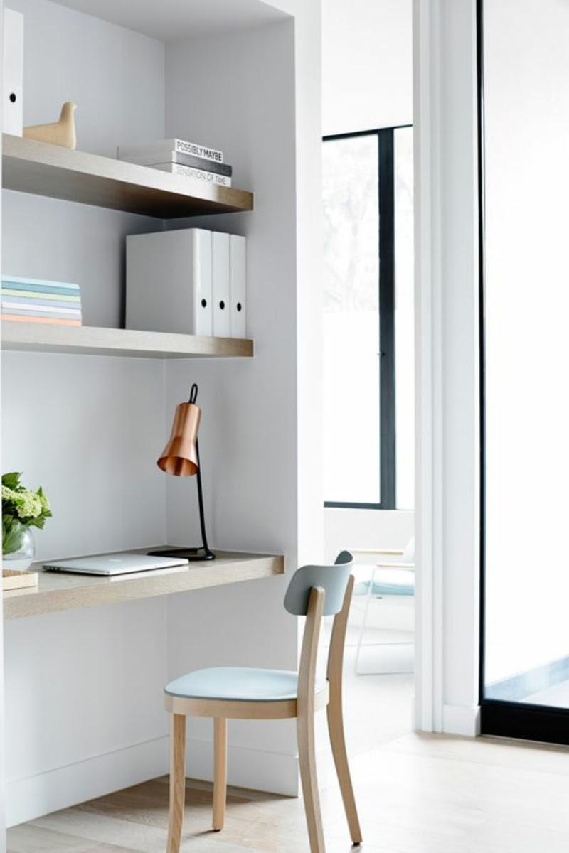 ideen für arbeitsplatz im wohnzimmer