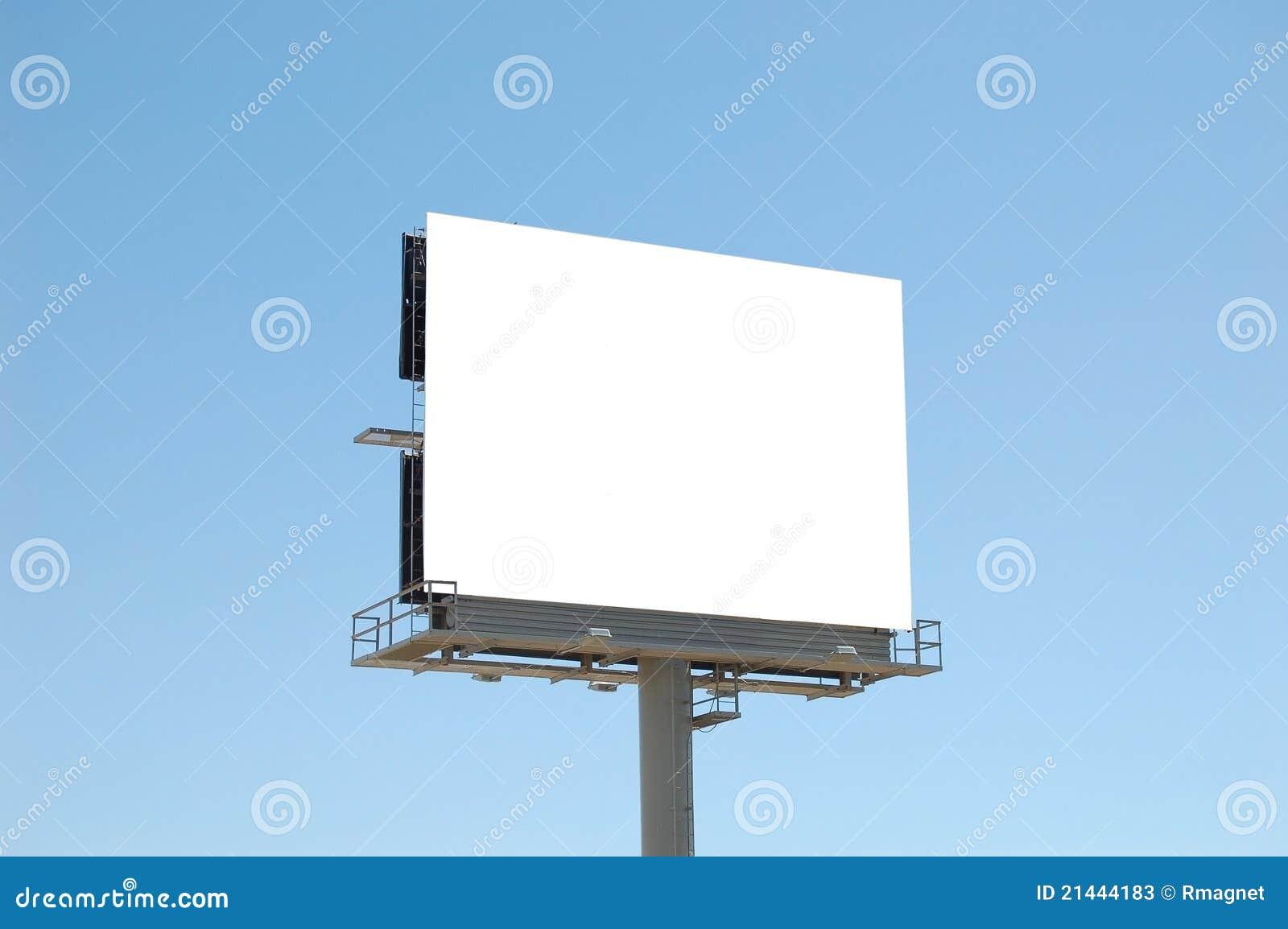 Square Blank Billboard