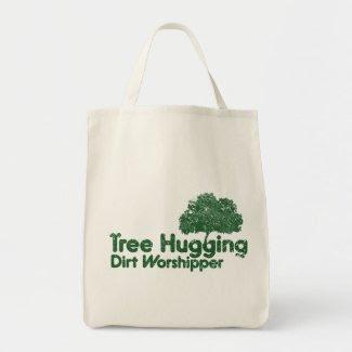Tree Hugging Dirt Worshipper bag
