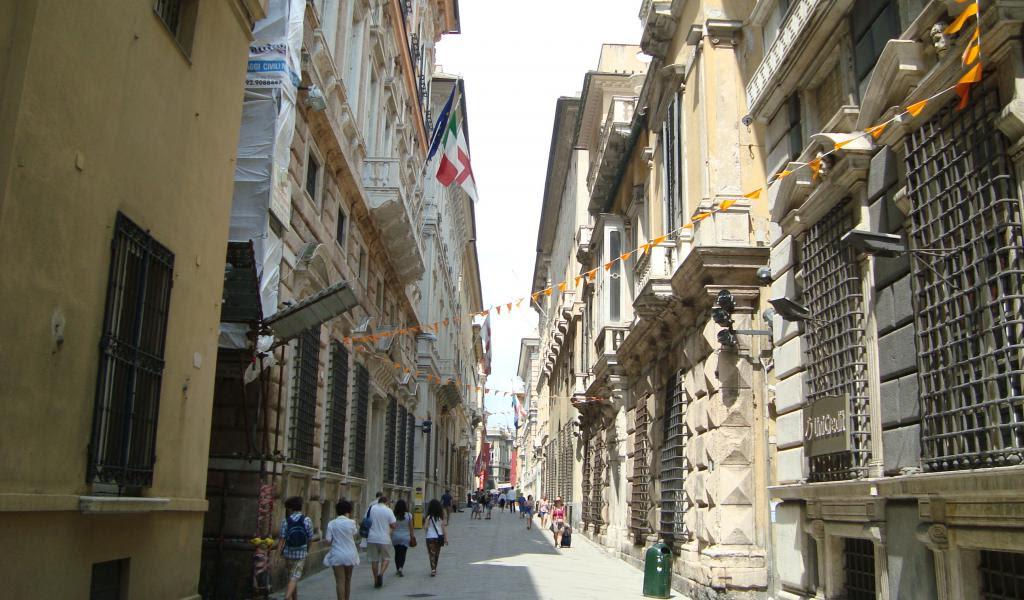 Via Garibaldi Palaces Tour Genoa Italy