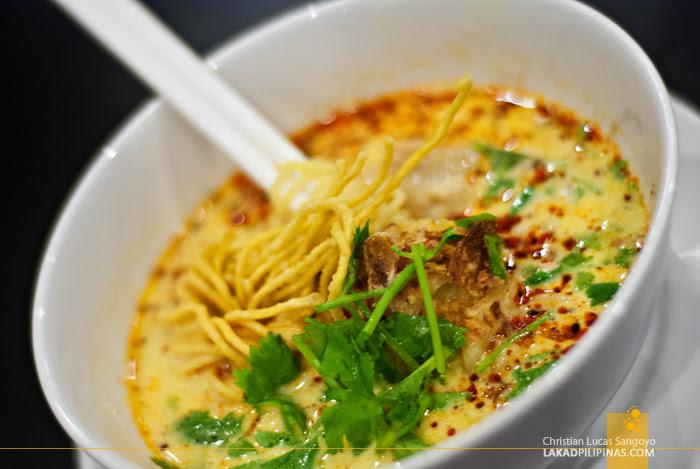 Chicken Curry Soup at Phuket's Siam Niramit Restaurant