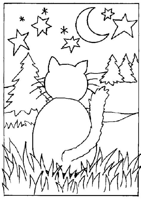 cat coloring pages coloringpagescom