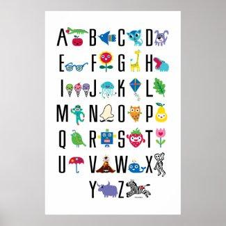Alphabet Cute - poster