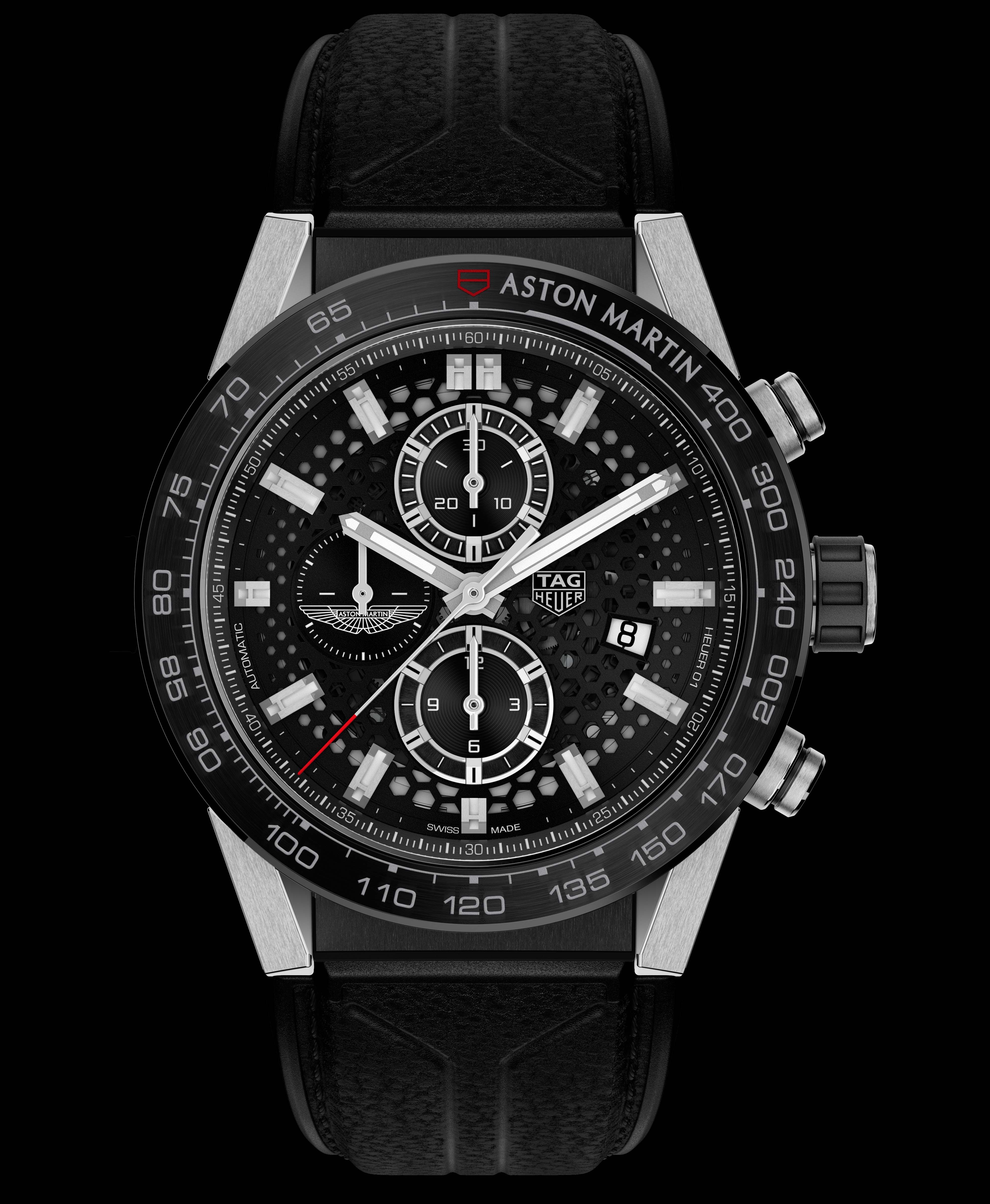 La Cote Des Montres Tag Heuer Presents The First Aston Martin Special Edition Chronographs Two Watches Honouring Aston Martin And Aston Martin Racing