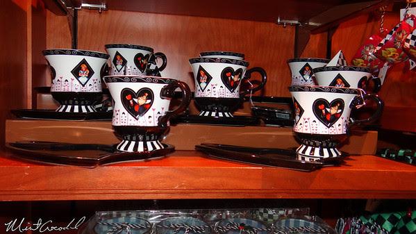 Disneyland Resort, Disney California Adventure, Buena Vista Street, Alice in Wonderland, Merchandise