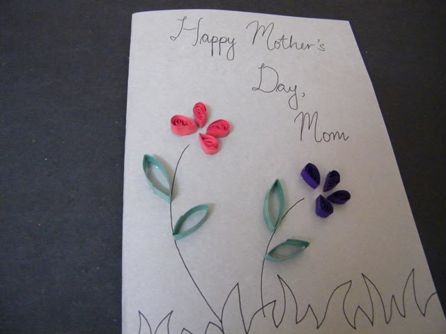 mothers day cards to make in school. Make Mom a Mother#39;s Day Flower