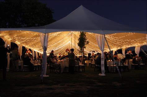 Ideas for Tent Lighting   Wedding & Event Lighting and Decor