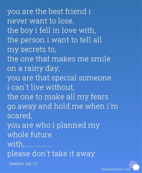 Fell Love My Best Friend Quotes