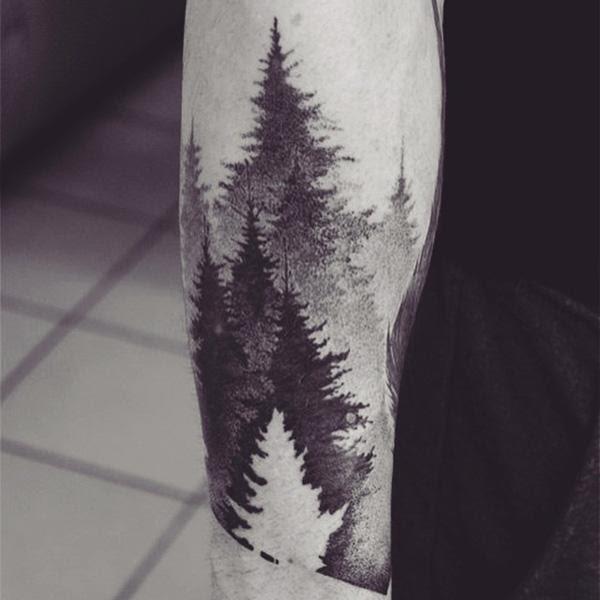45 Inspirational Forest Tattoo Ideas Art And Design