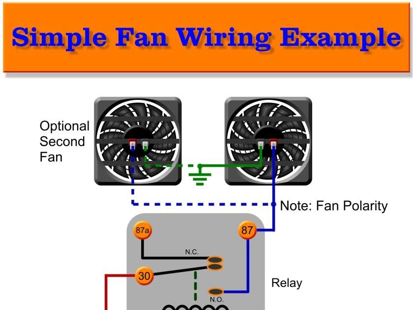 55 Beautiful Auxiliary Fan Wiring Diagram