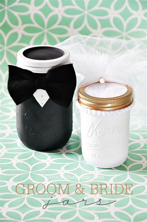 Mason Jar Crafts   Vintage Jar Bride Gift   Mason jar