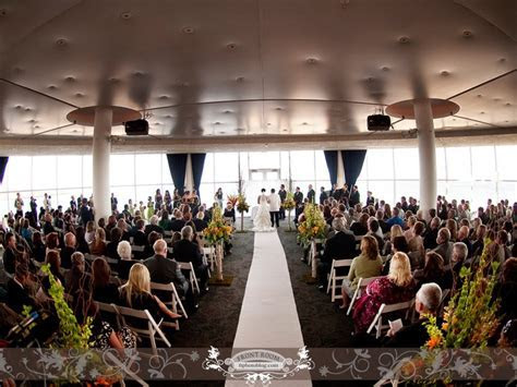 Wedding Ceremony The Pilot House at Pier Wisconsin