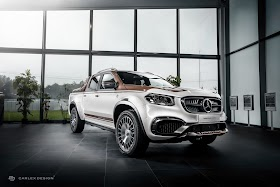 Pickup Design Membuat  Mercedes-Benz X-Class Tampil Modis oleh - mercedesbenze200.xyz