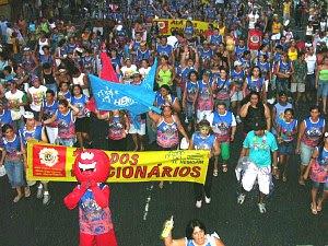 Bloco do Vampirão abirá o Carnaval 2012 em Manaus no Sambódromo (Foto: Divulgação/Hemoam)