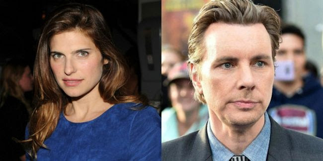 Lake Bell and Dax Shepard