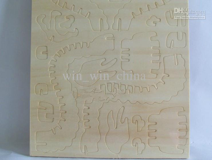Wholesale - Intelligence Toy Wood Model Kits with paints Child Wool