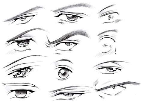 draw male eyes part  manga university campus