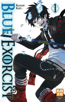 Couverture Blue Exorcist, tome 01