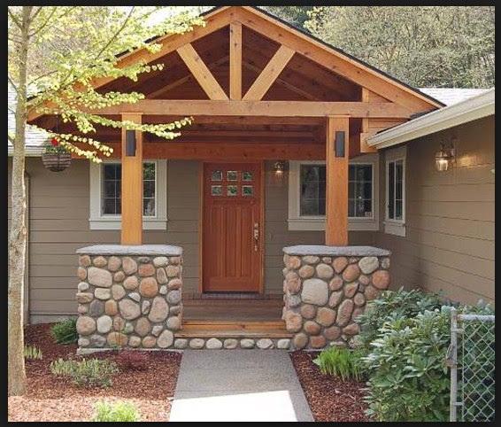 Model Rumah Idaman Sederhana Di Desa unik Desain Rumah