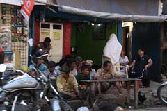 the beggars waiting for food ..mahim beggar restaurants by firoze shakir photographerno1